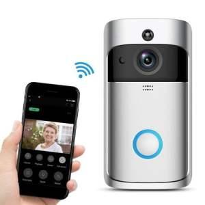 Sonnette intelligente avec camera HD WiFi pour iOS et Android SP