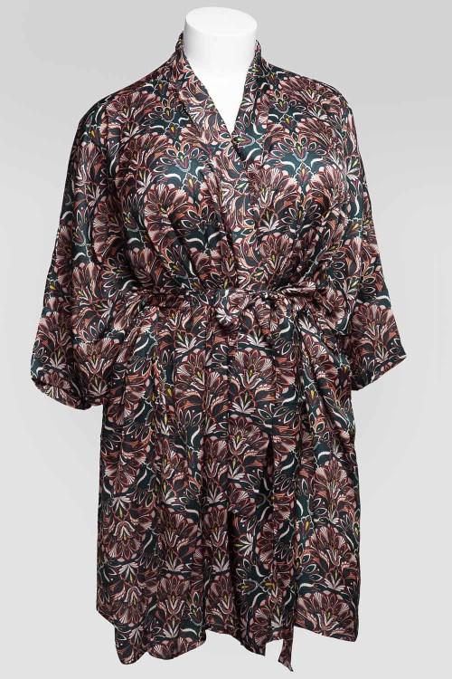 Sablier Everglade Print Short Robe