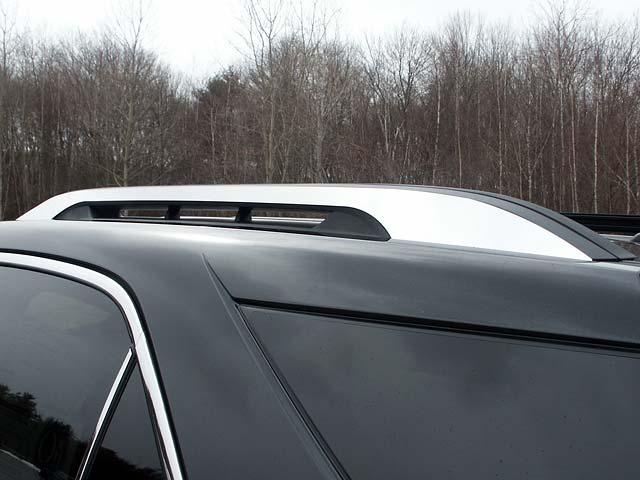 chevrolet equinox factory roof rack chrome trim 2pc set 2010 2017