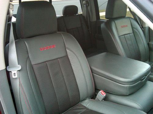 2006 Dodge Ram Quad Katzkin Leather
