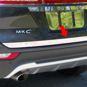 Lincoln MKC Chrome Tailgate Trim 2015 2016 2017 2018