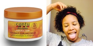 Cantu Shea Butter Natural Hair - Straight to Curly