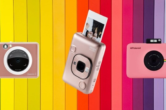 Best 5 Instant Camera with Memory Card 2021