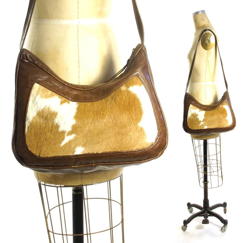 Cowhide Hobo Bag