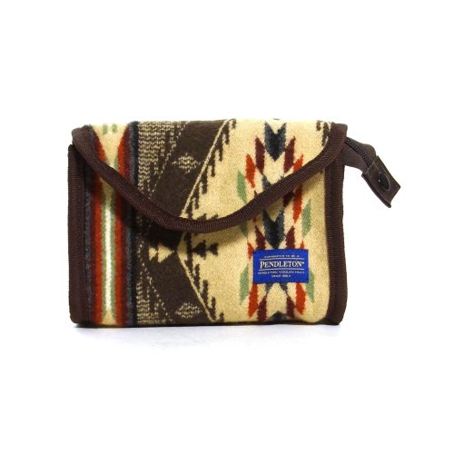 Pendleton Wool Cosmetic Case