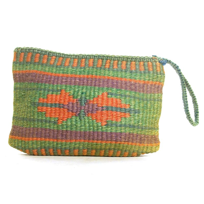 Woven Chimayo Style Clutch Bag