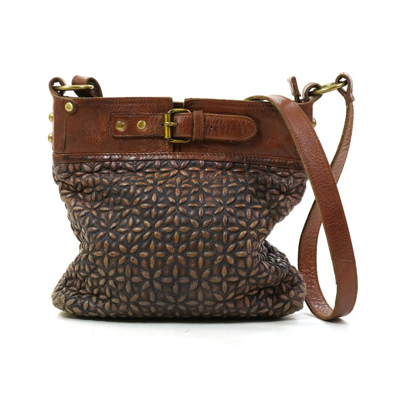 Pre Loved Anabaglish Joan Quilted Crossbody Bag
