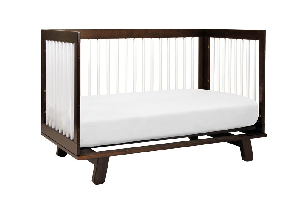 babyletto hudson 3 in 1 convertible crib espresso white