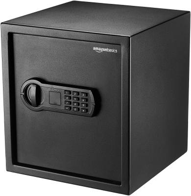 AmazonBasics Home Safe 1.2 cubic feet - Best Lockers for Home