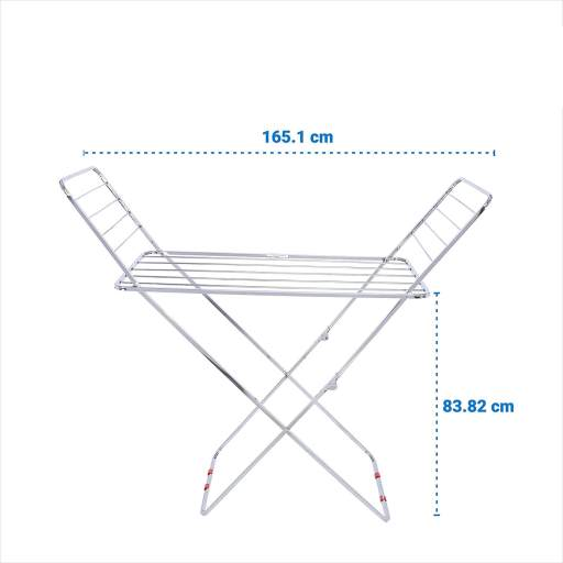 LiMetro Stainless steel cloth dryer stand  - Best Cloth Drying Stand