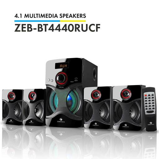Zebronics BT multimedia speaker -Best Home Theatre System in India