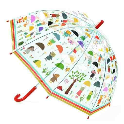 Kauf deinem Kind einen schönen Regenschirm und freut euch über Regen!