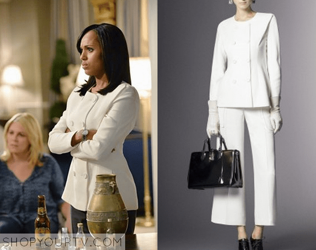 4c69d9342fd5 SCANDAL: SEASON 4 EPISODE 2 OLIVIA'S GREY ZIP UP RUNNING JACKET · olivia