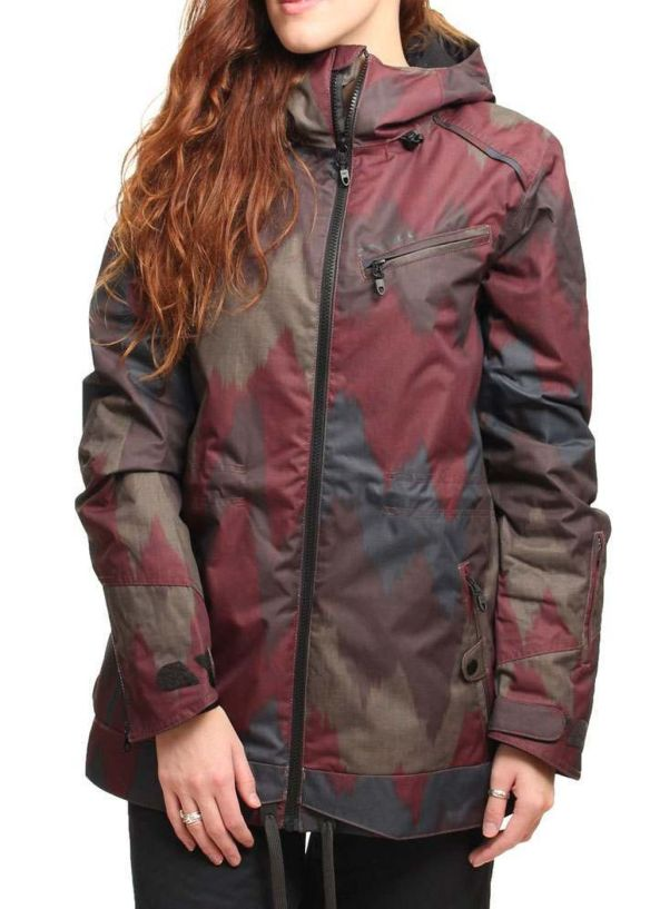 ONEILL SKETCH SNOW JACKET Red AOP