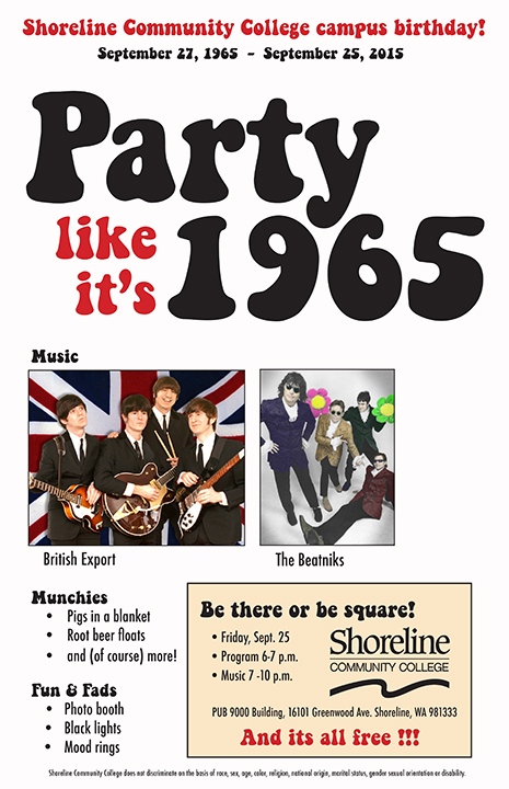 1965 party poster