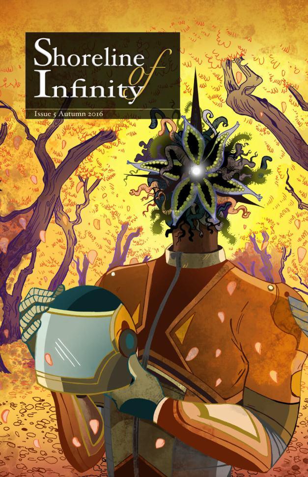 Shoreline of Infinity 5, cover by Sara Julia