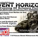 Event Horizon in Kilmarnock – Wednesday 1st February 2017