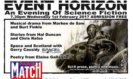 Event Horizon in Kilmarnock – Wednesday 1st February 2017