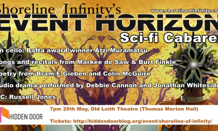 Shoreline of Infinity Event Horizon at the Hidden Door Festival 29th May