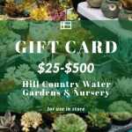 Online Curbside Delivery and Gift Card Solution for Hill Country Water Gardens & Nursery
