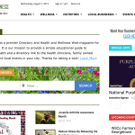 Website and Social Project for Wilco Wellness