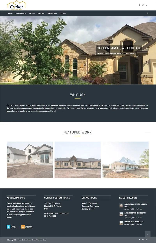 Corker Custom Homes