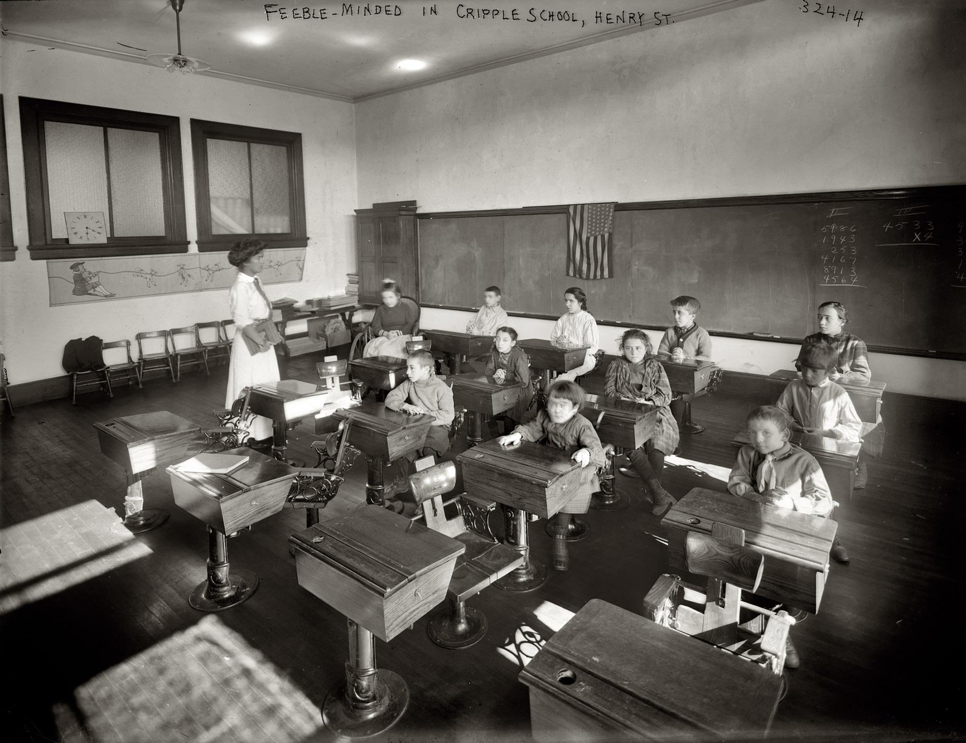 Shorpy Historic Picture Archive Cripple School