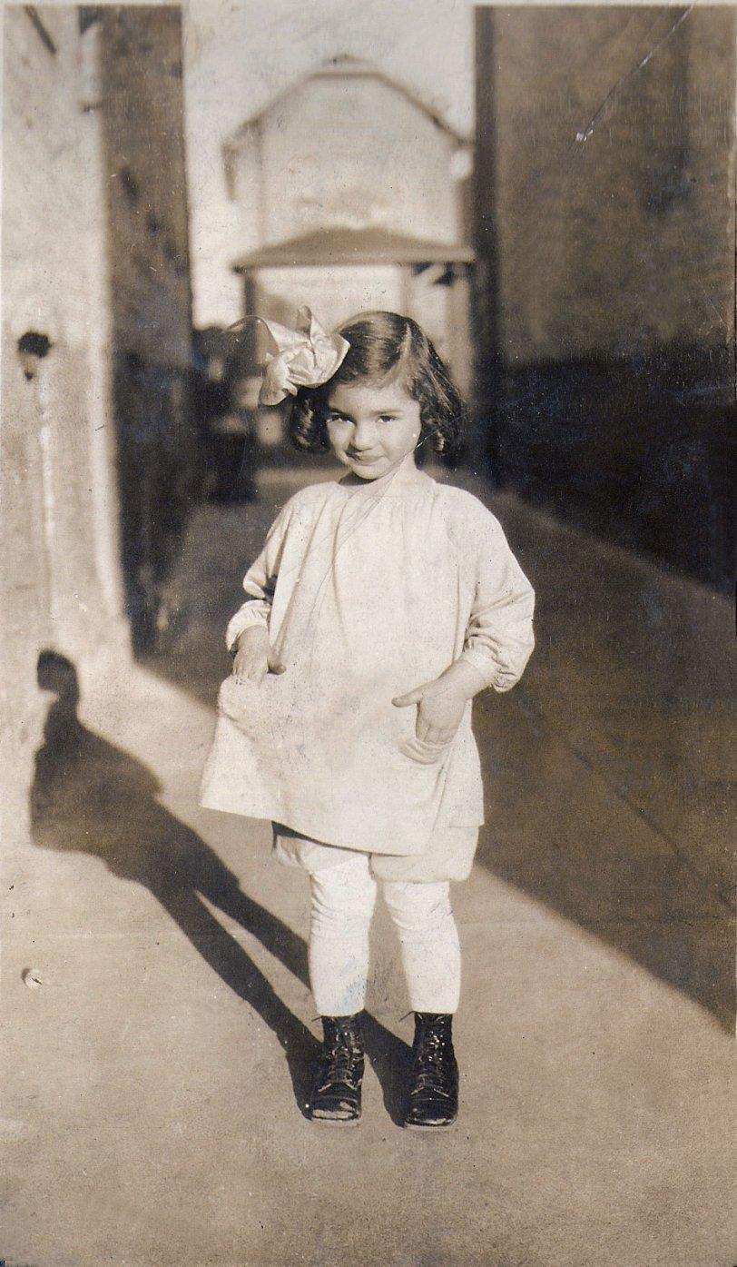 Charna Sidelle Shear at 3½: 1928