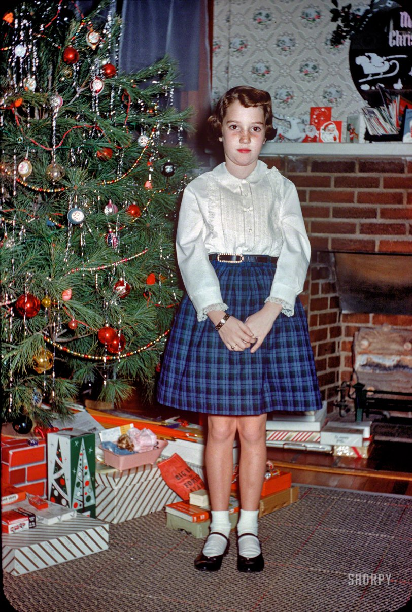 Deck The Halls 1959 Shorpy Historical Photos