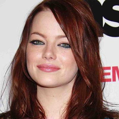 which shade of red pale skin light green eyes