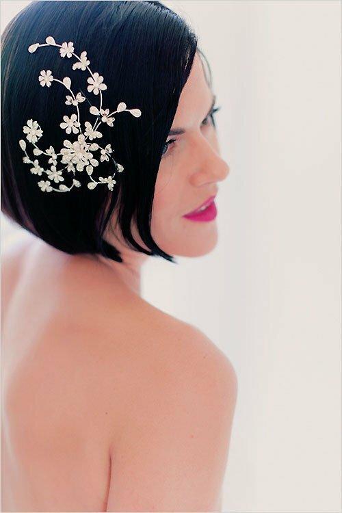Memorable Wedding Wedding Hairstyles For Short Hair