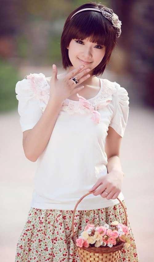 Popular Asian Short Hairstyles