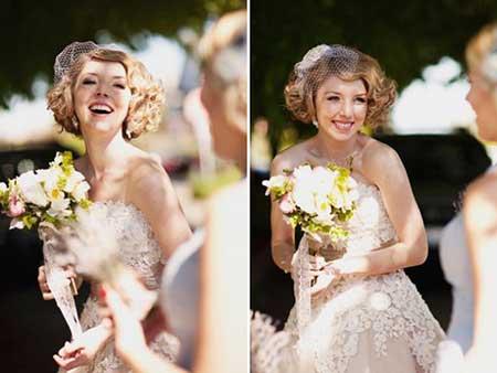 Short Bridal Hair Styles Short Hairstyles 2017 2018