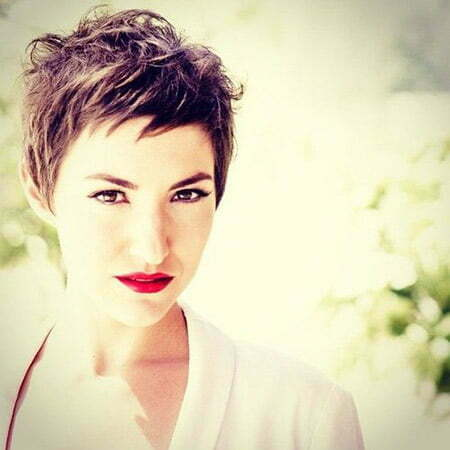 Messy Pixie Cut Short Hairstyles 2016 2017 Most