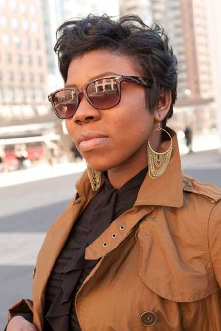 Short Hairstyles For Black Women Short Hairstyles 2015