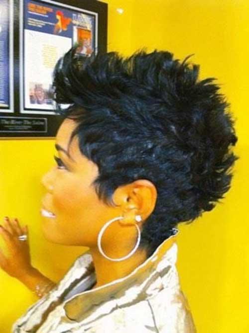 Mohawk Short Hairstyles For Black Women