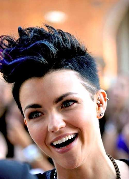 30 Short Trendy Hairstyles 2014