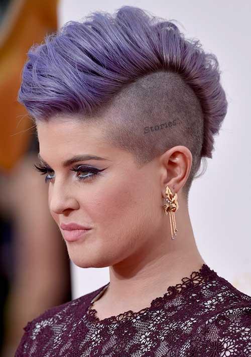 Mohawk Short Punk Haircut
