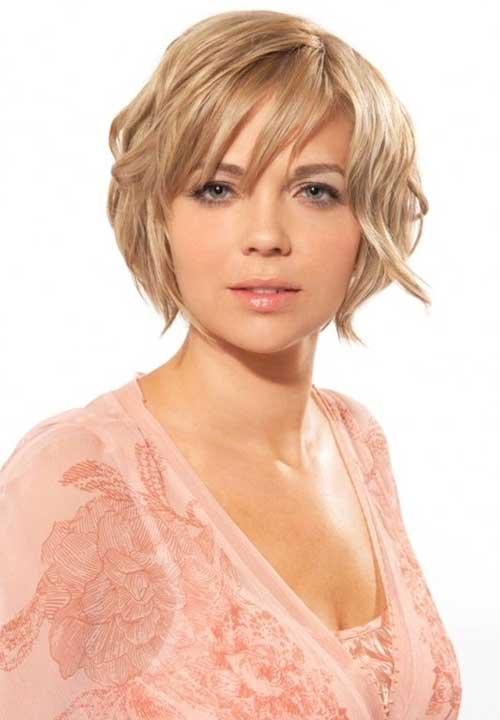2018 Short Hairstyles Round Face Simple Styled Hairdo This Style With Most Recent Pixie For