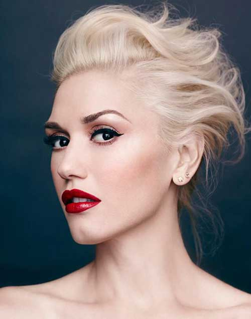 Gwen Stefani Short Hairstyle