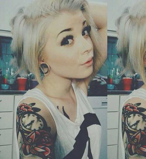 Image Result For Short Blonde Haircut