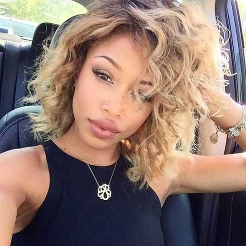 Best Short Curly Weave Hairstyles Short Curly Haircuts