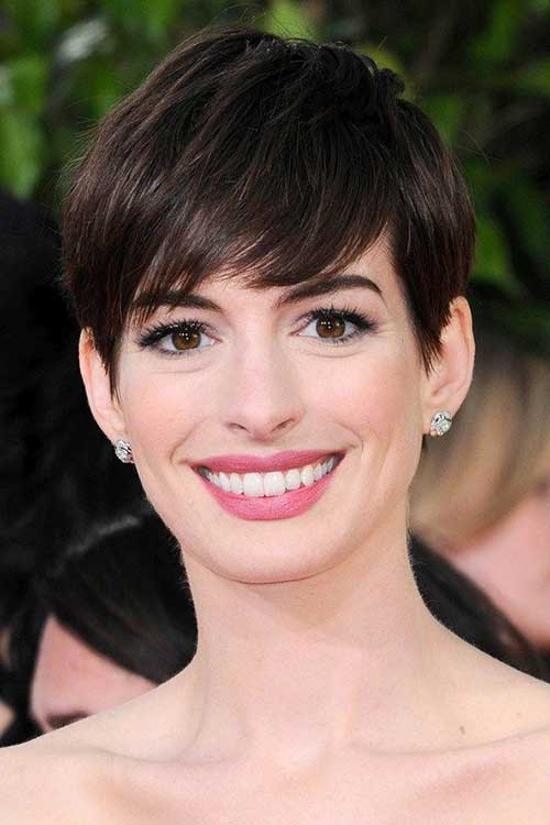 20 Best Anne Hathaway Pixie Cuts Celebrity Short Haircuts