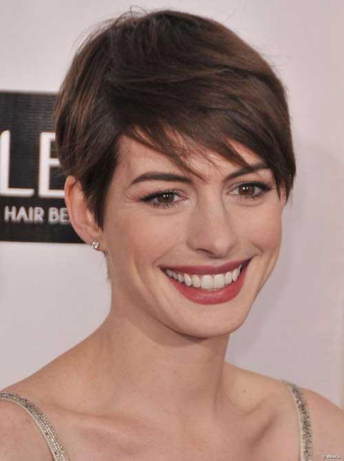 20 Best Anne Hathaway Pixie Cuts Short Hairstyles 2017