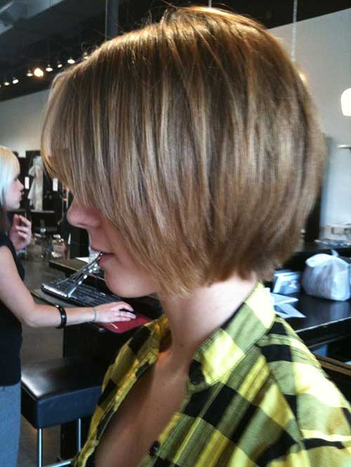 15 Unique Chin Length Layered Bob Short Hairstyles 2017