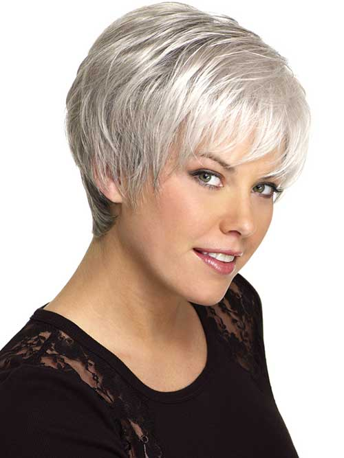 14 Short Hairstyles For Gray Hair Short Hairstyles 2018