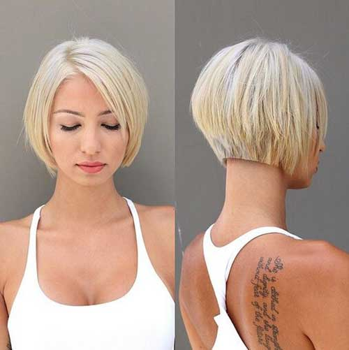 Short Blunt Bob Haircut