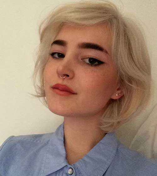15 Beloved Short Haircuts For Women With Round Faces Crazyforus