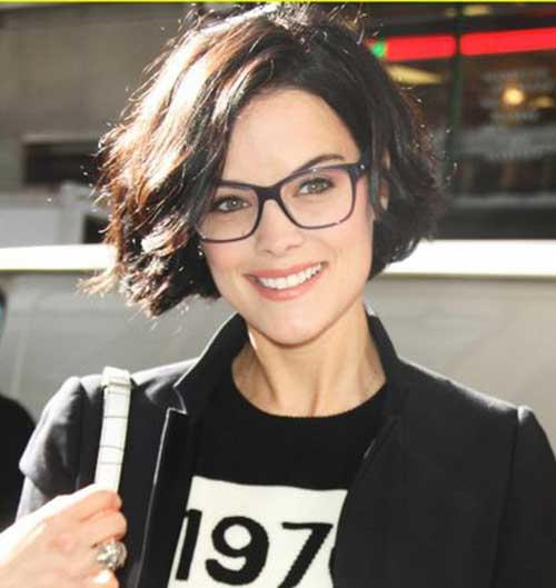 Jaimie Alexander Short Haircut