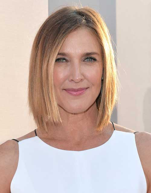 Brenda Strong with Short Hair